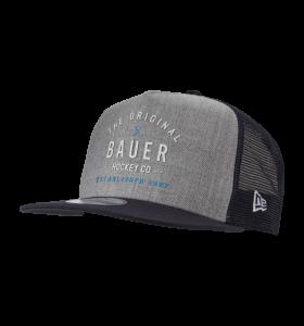 Bauer Original Script 9Fifty Snapback Cap Grey Sr