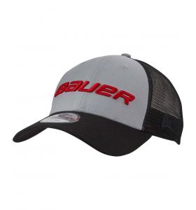 Bauer Vapor 9Forty Snapback Cap Grey Sr