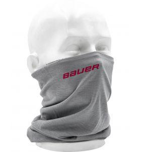 Bauer reversible gaiter grey / Bauer logo
