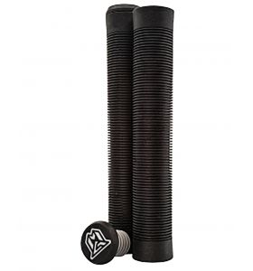 MGP Flangeless TPR grind grips 150mm Black