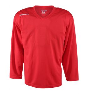 Bauer Practice Jersey Red YTH