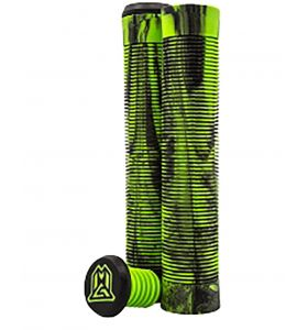 MGP Flangeless TPR grind grips 150mm Green