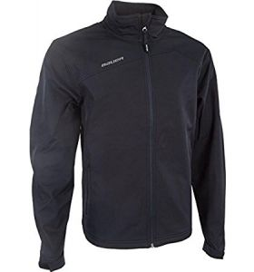 Bauer team soft shell jacket black YTH