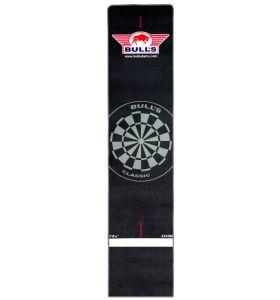 Bull's Carpet Dartmat Black zwarte rand 300 x 65 cm
