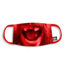 CCM facemask Red (Beard)