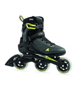 Rollerblade Macroblade 100 3WD anthtacite/neon yellow '19