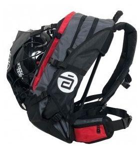 Cado Motus airflow XL backpack zwart grijs rood