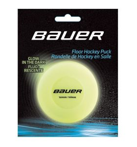 Bauer Streetpuck glow in  the dark