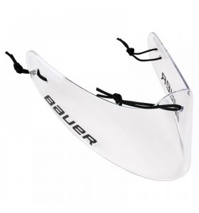 Bauer Lexan Clear Throat Protector S18 SR