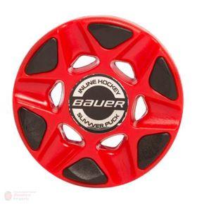 Bauer Slivvver Puck IIHF rood
