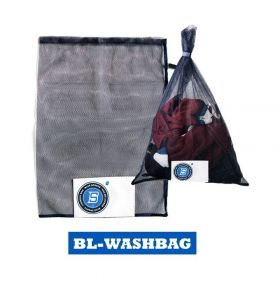 Blue sports deluxe laundry bag