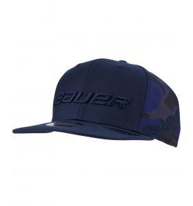 Bauer Blue Camo 9Fifty Snapback Cap YTH