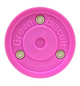 Green Biscuit Pro saucer Pass Puck pink
