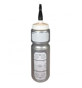 Bauer Water Bottle Rink Grey