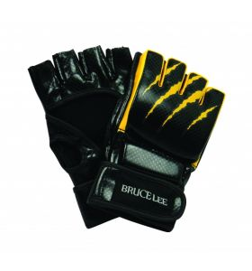 Bruce Lee grappling-handschoenen Signature MMA zwart