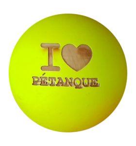 Obut I love Petanque Geel
