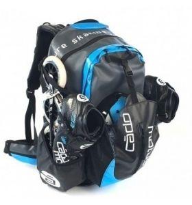 Cado Motus Waterflow Backpack Black/Cyan