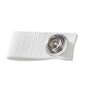 Replacement chin strap fastener white