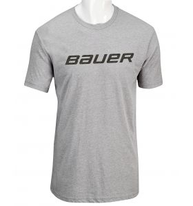 Bauer Core SS Tee Heather SR Grey