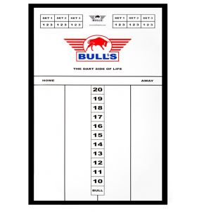 Bull's Styreen dart scorebord 45X30 cm