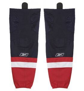 Reebok Edge sock NHL Washington navy red