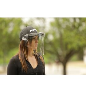 Bauer Intergrated Cap Face Shield