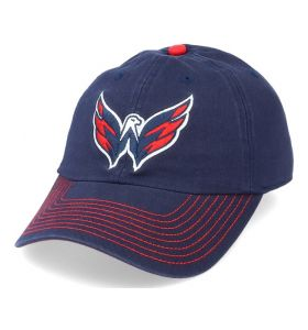 NHL Logo Fan Adjustable cap Washington Capitals Navy