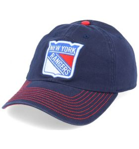 NHL Logo Fan Adjustable Cap New York Rangers Navy