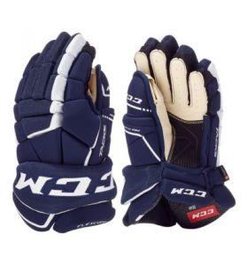 CCM Tacks 9060 Gloves SR Navy/White