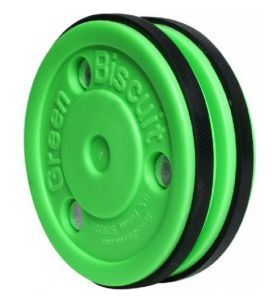 Green Biscuit Pro saucer Pass Puck