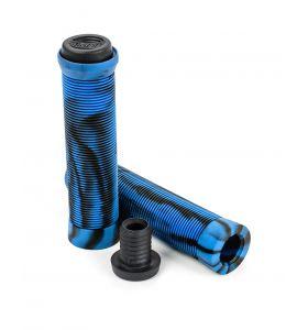 Slamm Pro Swirl Bar Grips Blue