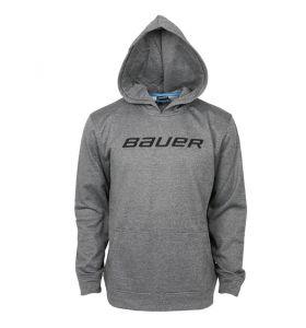 Bauer Core Fleece Hoody SR Grey