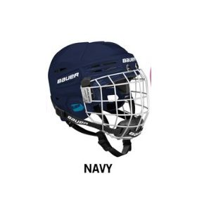 Bauer Helmet HH Prodigy YOUTH Combo Navy