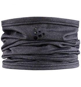 Craft Core Neck Tube Black Melange