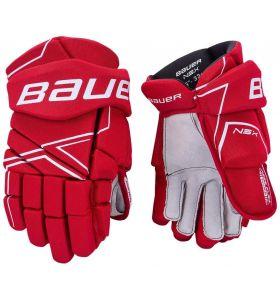 Bauer NSX Gloves JR Red