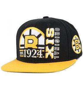 NHL Org 6 Boston Bruins Snapback