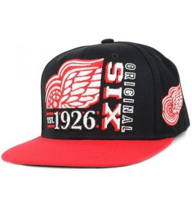 NHL Org 6 Detroit Red Wings Snapback