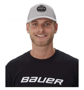 Bauer 9Fifty Patch Cap Grey SR