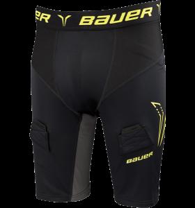 Bauer Premium Compression Jock Short ZW/GL SR