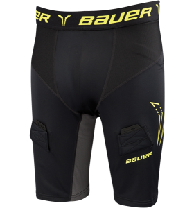 Bauer Premium Compression Jock Short ZW/GL JR