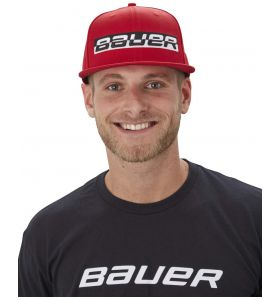 Bauer 9Fifty Reflection Red Cap JR