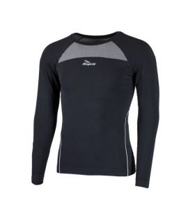 Rogelli thermo shirt t LM 2pack zwart