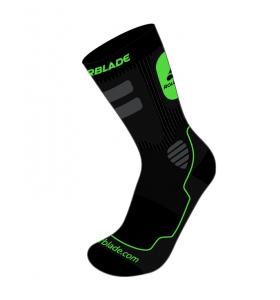 Rollerblade Skate Sock Black/Green