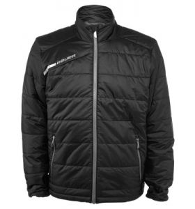 Bauer flex bubble jacket black YTH
