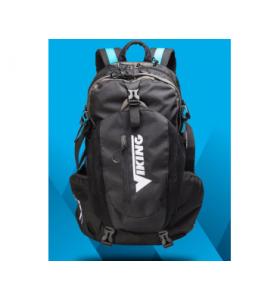Viking backpack black white 40 liter