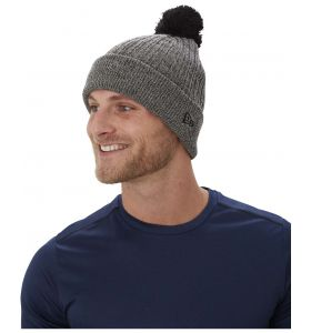 Bauer team Marl pom knit toque black