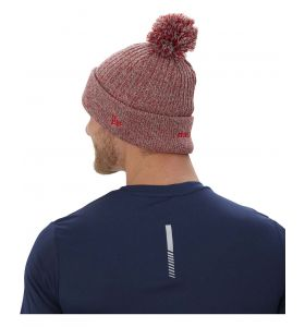 Bauer team Marl Pom knit toque red
