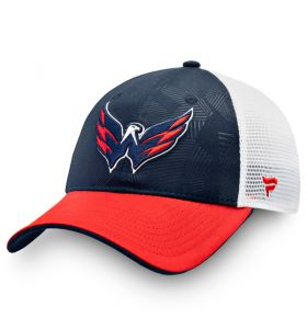 NHL Logo Trucker Adjustable cap Washington Capitals Navy