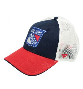 NHL Loge Trucker Adjustable cap New York Rangers Navy