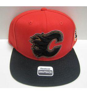 Two Tone Snapback Calgary Flames